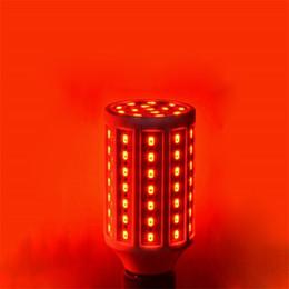 Lámpara de maíz led azul online-10pcs 2017 Nueva B22 E14 10W 15W 20W 25W LED bulbo del maíz SMD5730 220 rojo / azul / verde LED de la lámpara del proyector Para la iluminación de la luz