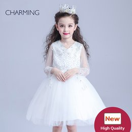 Wholesale Designer Wedding Shop - princess flower girl dresses birthday party dresses designer flower girl dress china wholesale site online shopping