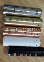 Wholesale E Cig 1pcs - Wholesale- 1pcs Apollo Mod USA mods Black SS Copper Mechanical Mods electronic cigarette e cigarette for e cig RDA atomizer Apollo Mod