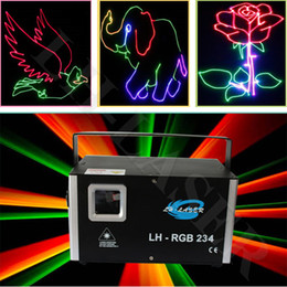 Wholesale Laser Blue Ttl - Mini 1.5W TTL or Analog RGB laser stage lighting projector with SD Card for outdoor laser light