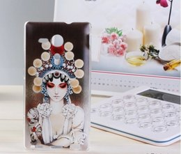 Wholesale Xperia Z1 Pouch - Fashion For Sony Xperia L36H Case Silicone 3D Painting For Sony Z1 Z2 Z3 Z4 Cover Protector Back Cover Stereo Cases Painting Priting Shells