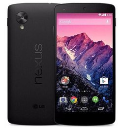 "Wholesale Google Mobile Phones - Refurbished Original Google Nexus 5 D821 D820 16GB 32GB Quad Core 4.95"" Unlocked Mobile Phone"