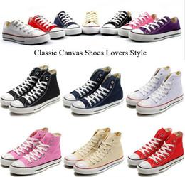 Wholesale Renben Shoes - High-quality RENBEN Classic Low-Top & High-Top canvas shoes sneaker Men's  Women's canvas shoes Size EU35-45 retail   dropshipping