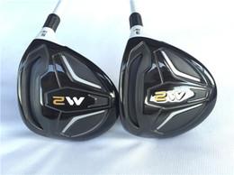 Wholesale Fairway Shafts - M2 Fairway Woods Golf Fairway Woods Golf Clubs #3 #5 Regular or Stiff Flex Graphite Shaft With Head Cover