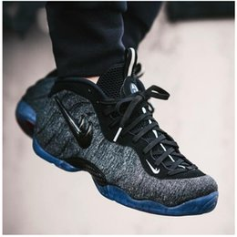 Wholesale Pro Ups - In 2017, the new Air Foamposite Pro men sport basketball shoes men's shoes size 40-45 high quality movement