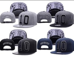 Wholesale Slam Dunk Shohoku - SHOHOKU SLAM DUNK N0.10 Neymar JR njr Black Baseball Cap hip hop Sports Snapback caps bone chapeu WU-TANG hats for Men Women