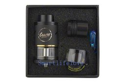 Wholesale Compare Free - Best Selling CoilArt Azeroth RDTA Atomizer 24MM Diameter Clone 4ML Big E-Juice Capacity compared with Coilart GTA RTA tank DHL free shipping