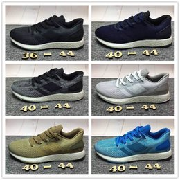 Wholesale Pure Fishing - Hot Sale 2017 Pure Boost2.0 Running Shoes Men Women Breathable Sneakers Shoes Pure Boost 2.0 Top Quality Outdoor Walking Shoes Size 36-44