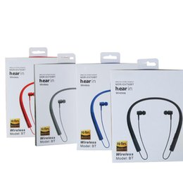 Wholesale portable sports - Selling Hanging in-ear stereo Portable earphone Sport Bluetooth headset MS-750A hight quality Beautiful and durable for sony iphone samsung