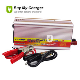 Wholesale Modified Sine - 1000w Intelligent DC 12 Volt To AC 110v Modified Sine Wave Solar Power Inverter solar power system Free Shipping