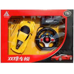 Wholesale Electric Toy Racing Cars - Children remote control car toy Racing Car Electric model drift Remote control High Speed racing sports car toy