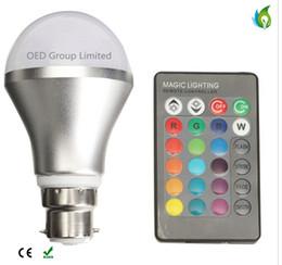 Canada L'ampoule magique d'ampoules de LED RVB avec 16 couleurs 3W 5W 10W 85-265V couleur changeante a mené l'éclairage mené de lumières Offre