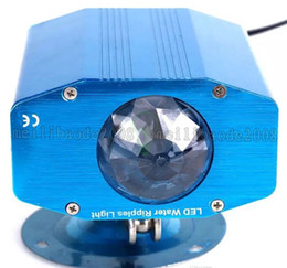Wholesale Ripple Mini - Multi-color Mini LED stage light 5W LED stage water lines ripples light Blue shell AC 85V-265V LED wave Lighting For Pubs KTV Party Club MYY
