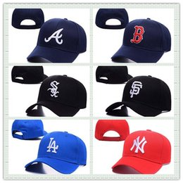 Wholesale Sports Outdoors Wholesale - Hot Sale Summer Men Baseball Cap Cotton Hunting Hat Outdoor New York Sports Flat Hat Fashion Women Casquette Snapback