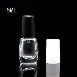 Wholesale 5ml Empty Polish Bottles - 5ML 5G Enamel Bottle, Empty Nail Polish Bottles, Nail Enamel Packing Bottle, Manicure oil Bottles, Nail Enamel Vial F20171241