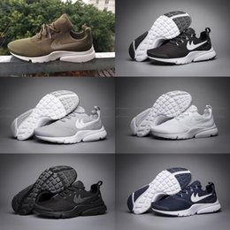 Wholesale Flat Walking Shoes For Men - 2017 Air Presto Fly Line Ultra Olympic BR QS Running Shoes For Men Fashion Casual Walking Sports Sneakers Women US 5.5-11