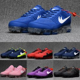 Wholesale New Sale Products - New Cheap Running Shoes Air Cushion 2018 Men Women 100% Original New Product Hot Sale Breathable Outdoor Sneaker Eur 36-47
