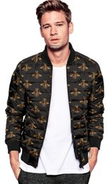 Wholesale Organic Coat - new 2017 men models zipper stand down collar hit color cardigan warm casual cotton jacket men's shirt Cotton garment Down jacket Winter coat