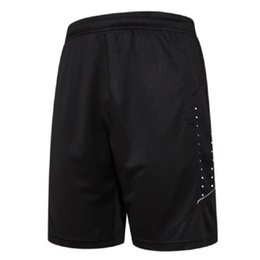 Wholesale wholesale black basketball shorts - Wholesale- Quick Dry Men's Sports Basketball Shorts Elastic Waist Men Running Shorts with Zipper Pocket Reflective Stripe Jogging Shorts