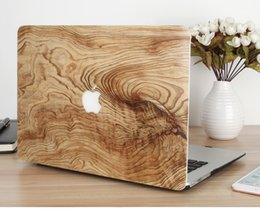 """Wholesale 13 Inch Laptop Briefcase - Laptop Wood Hard Case Cover Shell for Macbook Air Pro Retina 11 12 13 15"""""""