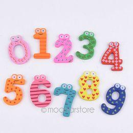Wholesale Cute Magnetic Alphabet - Useful Kids Educational Toy 10pcs cute Wood Letters Alphabet Learning Fridge Magnet