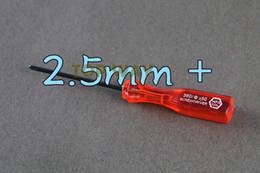 Wholesale Gba Sp Repair - 2.5mm + Screwdriver Tri wing Triangular Screwdrivers For Wii NDS NDSL GBA SP Game Repair Tool Reapirment