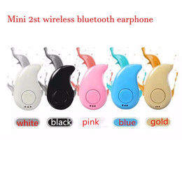 Wholesale Wholesale Retail Box - Mini Ultra-small S530 Wireless Bluetooth Headphones Stereo Earbud Headset Handsfree Sport Earphones In-ear For Iphone7 Plus With retail box