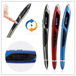 Wholesale Mp3 Player 16 Gb - Voice Recorder Pen 16 GB Digital Voice Recording Pen Registratore Vocale Professionale MP3 Player Mini Registrazione pen drive