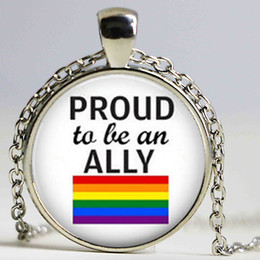 Wholesale marriage jewelry - LGBT Necklace, Marriage Equality, Bisexual, Transgender, Love Gay Rights, Button Pendant, Equality, Gay Pride jewelry