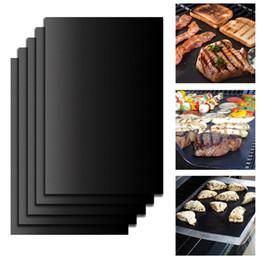 cottura a caldo Sconti Riutilizzabile BBQ Grill Pad Pad Piastra Piastra portatile Easy Clean Antiaderente Bakeware Strumento di cottura Accessori per barbecue
