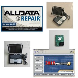 Wholesale Auto Repair Data - all data repair alldata 10.53 mitchell on demand 5.8 with laptop toughbook cf19 hdd 1tb auto software diagnostic win7