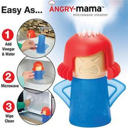 Wholesale Oven Clean - High Quality Angry Mama Microwave Oven Steam Cleaner Disinfects With Vinegar and Water Cartoon Microwave Oven Steam Cleaner