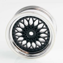 Wholesale Rc Car Rims Drift - RC HSP 2083 Plating Plating Wheel Rim 4P For 1:10 Offset:3mm On-Road Drift Car