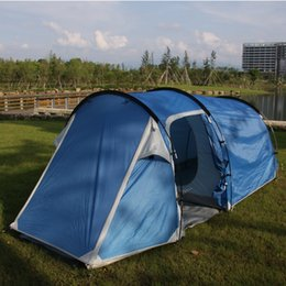 Wholesale tunnel tents - Wholesale- Star Home portable camping tent hiking sun-shading 4 season tunnel tent