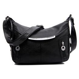 Wholesale Messenger Bag Minimalist - Wholesale-Handbags new leisure minimalist shoulder bag Messenger bag PU women travel packages