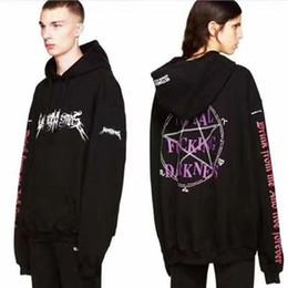 Wholesale Gd Hoodie - 2017 Fashion Street Gd Kanye West Ultra Long Sleeves Oversize Loose Midsweet Fleece Plus Size Hoodies Sweatshirt Men Outwear Jacket S-XL