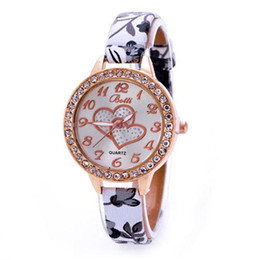 Wholesale Wrist Watch Love - 2017 new Xiniu New Brand Fashion Casual Woman's Watch Loving Heart Women Faux Leather Strap Band Analog Quartz Wrist Watch Woman Clock