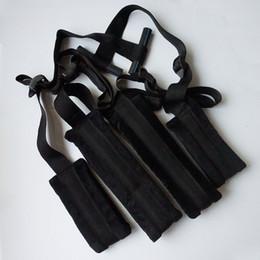 2019 produto flocagem Bondage Strap Sexy Fantasia Fetiche BDSM Toy Casais Amor Porta Sling Balanço # R495