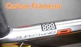 Wholesale r bike - Full carbon fiber T1000 UD 3K Road bicycle Super King R 888 carbon road frame with BB30 BB68 Size 48-50-52-54-56cm free shipping