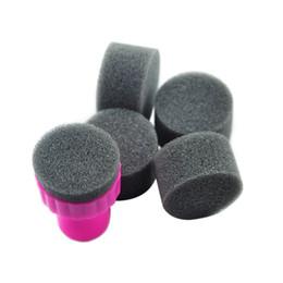 Wholesale Nail Stencils Kit - Wholesale-KADS Sponge Nail Art Kit for nail stamp tool ,Nail Art Paint Stencil for nail art print tool