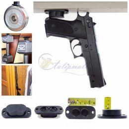 Wholesale Holder Guns - Multifunction Gun Handgun Piostol Magnet Mount with 25 lb Rating ,Concealed Rifle & Shotgun Magnetic Holder