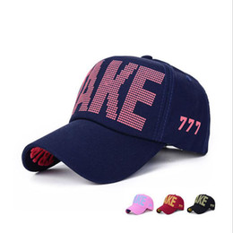Wholesale Custom Embroidered Snapbacks - Hot sale unisex cotton embroidery letter TAKE baseball cap snapback caps fitted bone casquette hat for men women custom hats