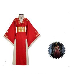Wholesale Ice Queen Costumes - Halloween Costumes Game Of Thrones cersei Lannister clothes a Song Of Ice And Fire queen cersei Cosplay Costumes For Women