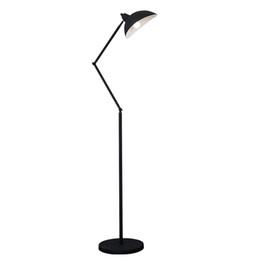 Wholesale Led Lamp Shades - E27 Floor Reading Lamp Creative Modern Minimalist Floor Desk Light Metal Shade Standing Lamp for Bedroom