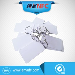 Wholesale Contactless Rfid Smart Card - Wholesale- Free shipping 50pcs lot PVC Contactless Smart RFID IC Card 13.56Mhz FM081 Cards For Access Control System & parking key