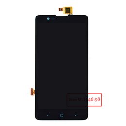 """Wholesale full bull - Wholesale- Best Working 5.0"""" Full LCD Display + Touch Screen Digitizer Assembly For ZTE Red Bull V5 U9180 V9180 N9180 Cellphone Replacement"""