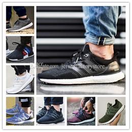 Wholesale Mens Run Shoe - Ultra Boost 2.0 3.0 4.0 Hypebeast UNCAGED UltraBoost mens running shoes for men Designer sneakers women Sports shoe Core Triple Black White