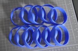 pulseiras rfid 125khz Desconto Atacado- impermeável 125kHz TK4100 Pulseira de Silicone RFID x 10 pcs (cor azul)