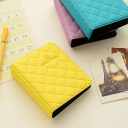 Wholesale Family Cases - Photo Album Box Book For Fujifilm Fuji Polaroid Instax Mini 8 90 50 70 Film Case for parents family boyfriend girlfriend gift