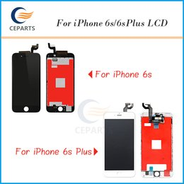 Wholesale Lcd Iphone Testing - Tianma AAA Quality Pantalla For iPhone 6S 6 plus 6S plus LCD Display Touch Screen Digitizer Parts Assembly 100% Testing No Dead Pixels